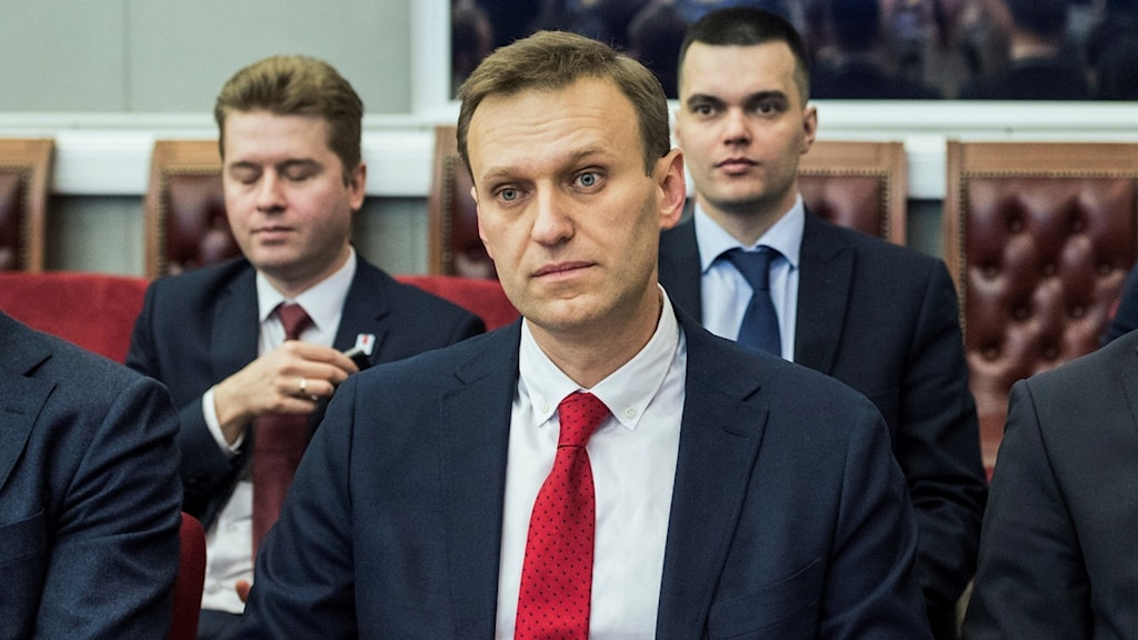 Den ryske oppositionspolitikern Aleksej Navalnyj.