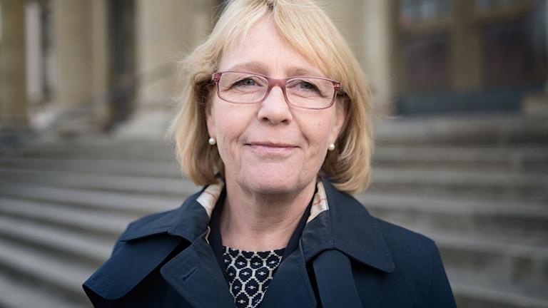 Iréne Svenonius, finanslandstingsråd för Moderaterna