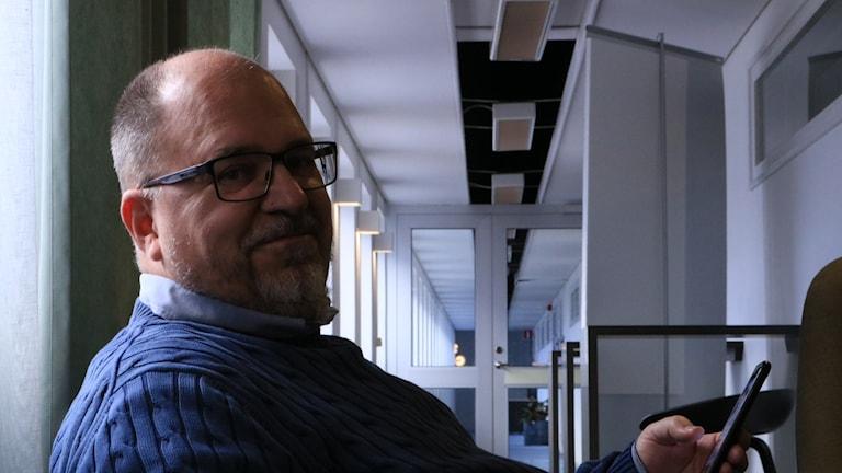Ekots Lördagsintervju med LO:s ordförande Karl-Petter Thorwaldsson.