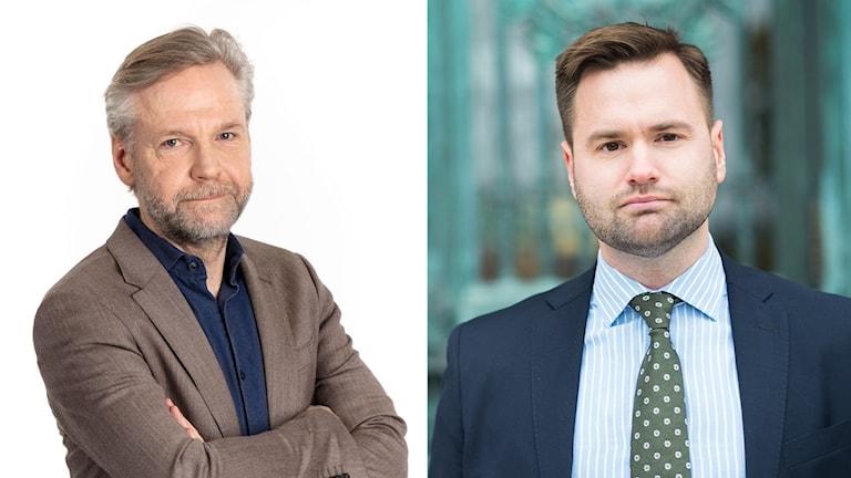 Tomas Ramberg och Erik Bengtzboe