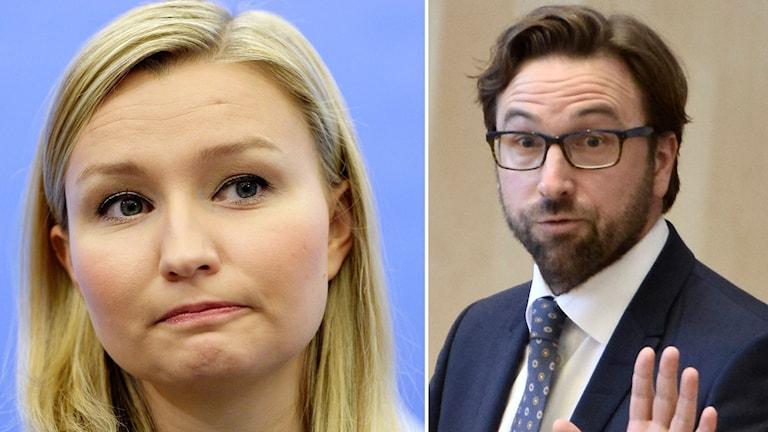 Ebba Busch Thor och Fredrik Malm