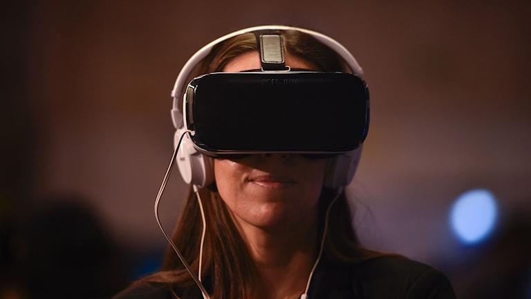 VR-glassögon blir årets julklapp Foto: TT