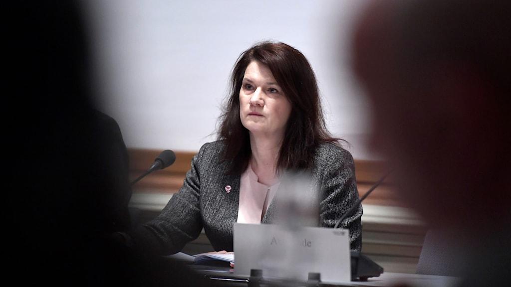 Sveriges handelsminister Ann Linde