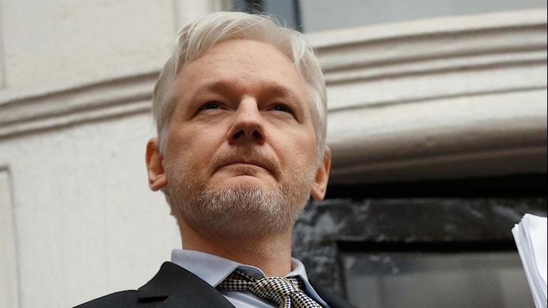 Grundaren av visselblåsarsajten Wikileaks, Julian Assange.