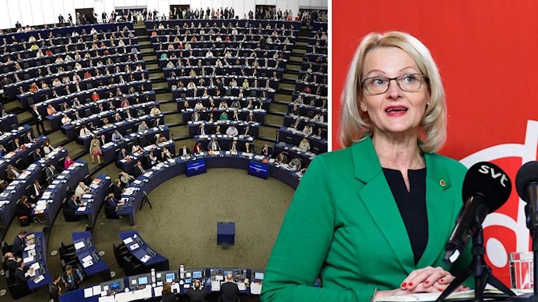 Heléne Fritzon är Socialdemokraternas toppnamn till EU-valet.