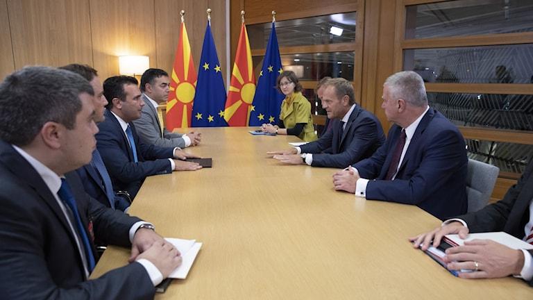Belgium EU North Macedonia