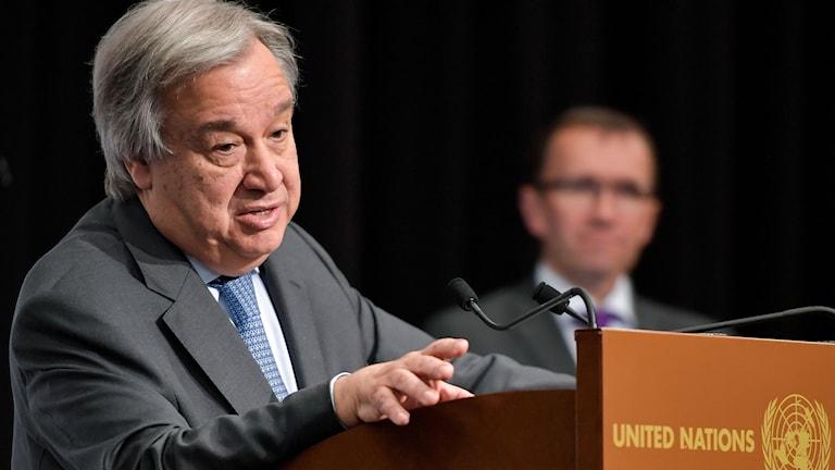 António Guterres, FN:s generalsekreterare