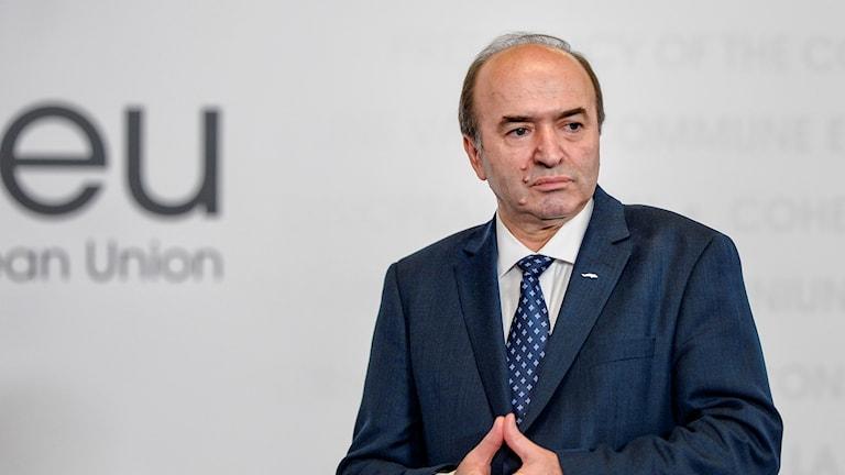 Rumäniens avgående justitieminister Tudorel Toader.
