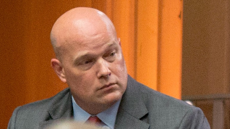 USA:s nya justitieminister Matthew Whitaker.