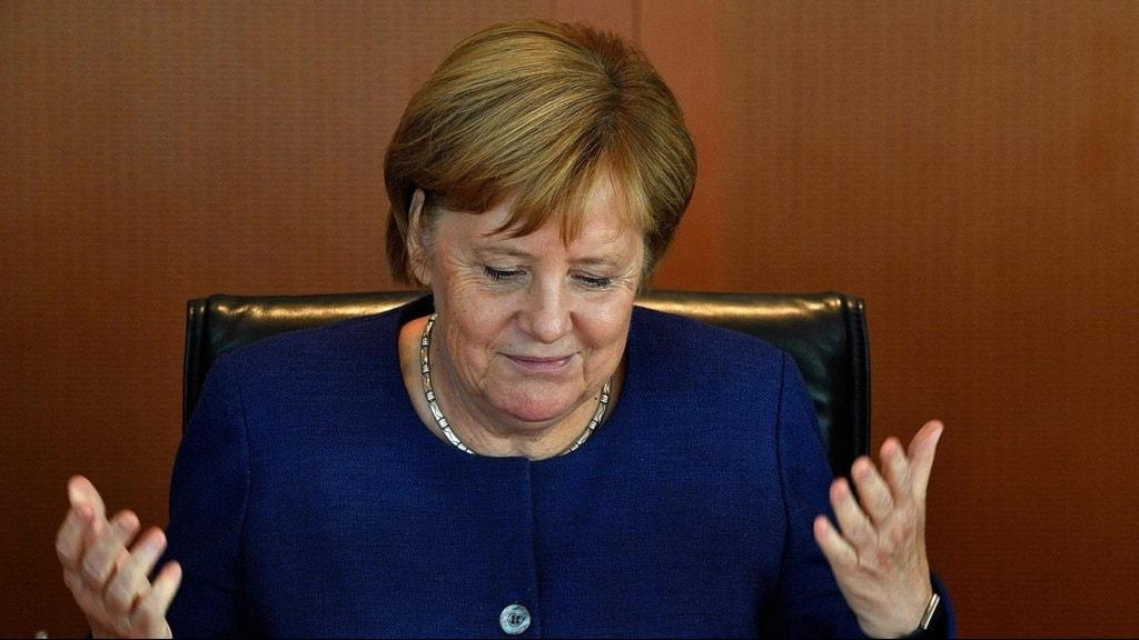 Förbundskansler Angela Merkel.