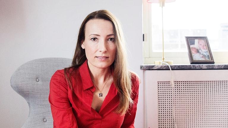 Heidi Stensmyren, Läkarförbundets ordförande.