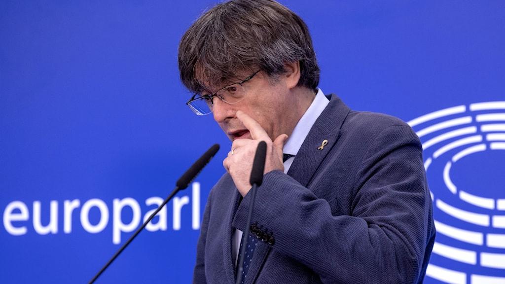 Belgium EU Puigdemont