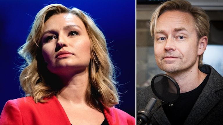 Ebba Busch Thor och Fredrik Furtenbach
