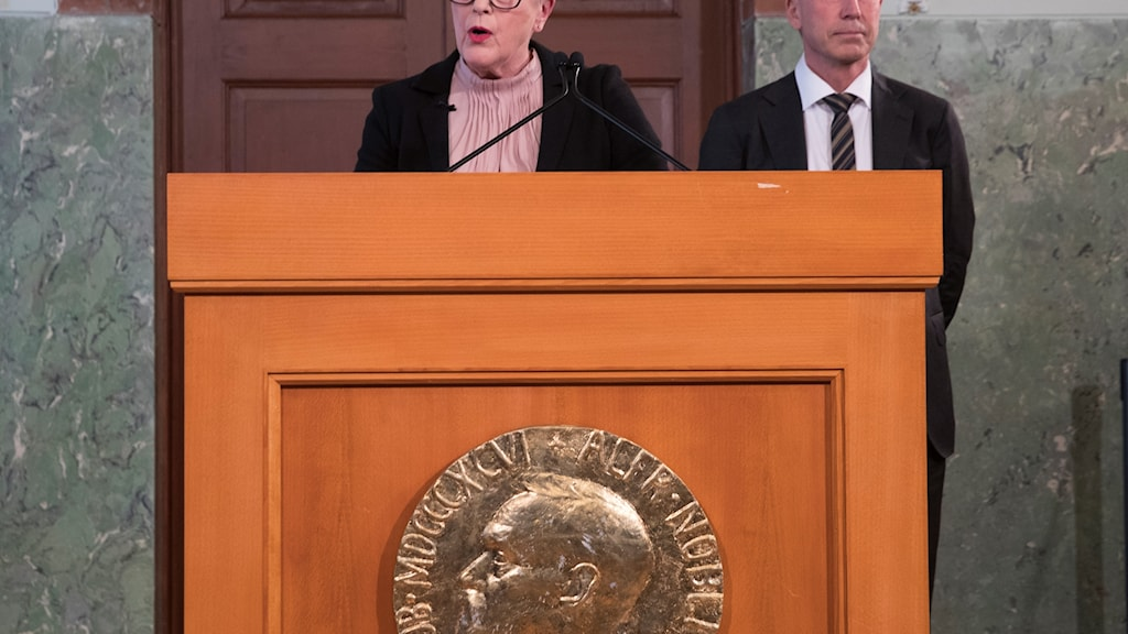 Berit Reiss Andersen tillkännager 2018 prspristagare av Nobels fredspris