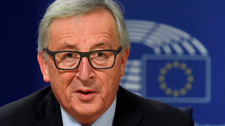 Jean Claude Juncker, EU-kommissionens ordförande.