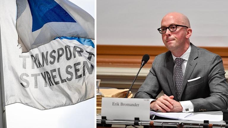 Den förre statssekreteraren Erik Bromander (S) frågas ut av riksdagens konstitutionsutskott (KU).