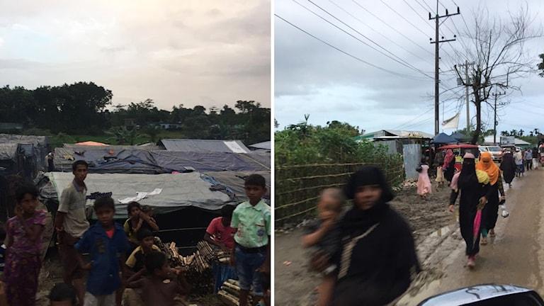 Migrationskorrespondent Alice Petrén är på plats i flyktinglägret Cox's Bazar.