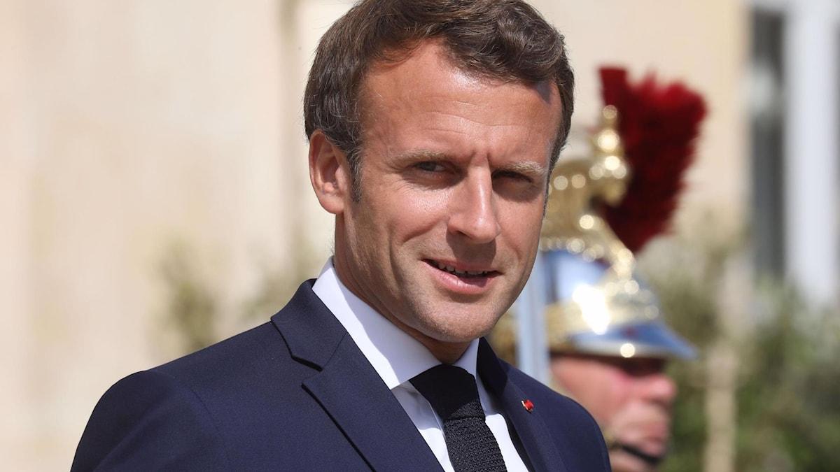 Frankrikes president Emmanuel Macron