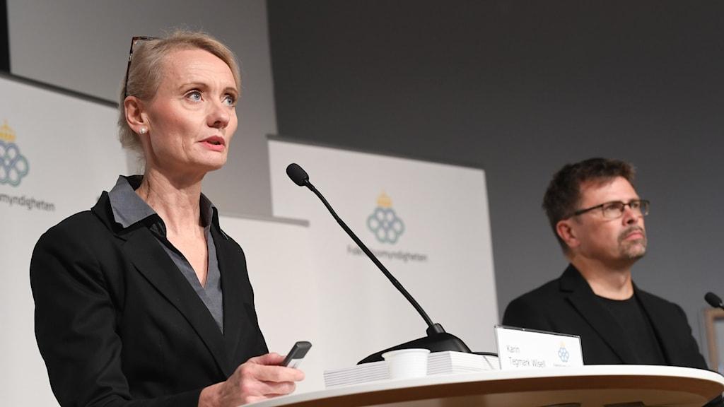 Karin Tegmark Wisell och Svante Werger