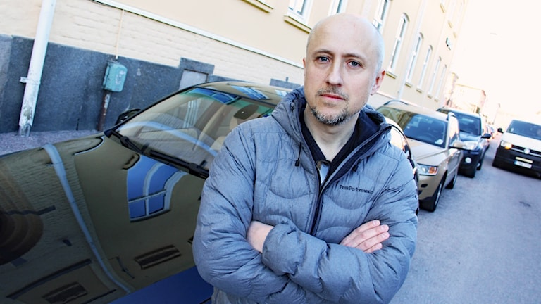 Daniel Karfs. Foto: Lars-Gunnar Olsson/Sveriges Radio.