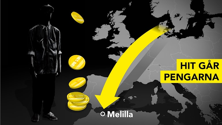 Money from tax scam in Scandinavia is suspected of being sent to a terrorist cell in Spain.