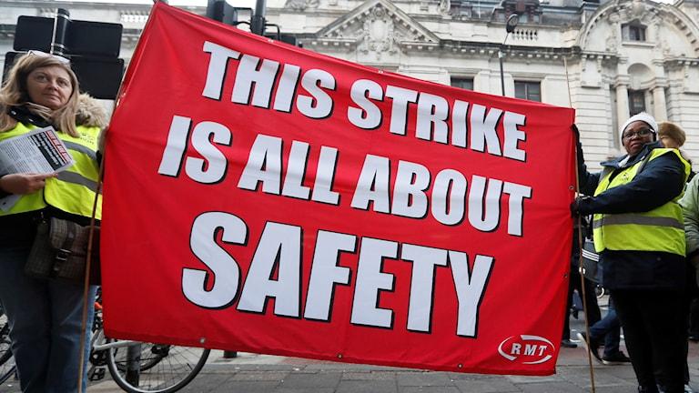 """""""Den här strejken handlar bara om säkerhet"""""""