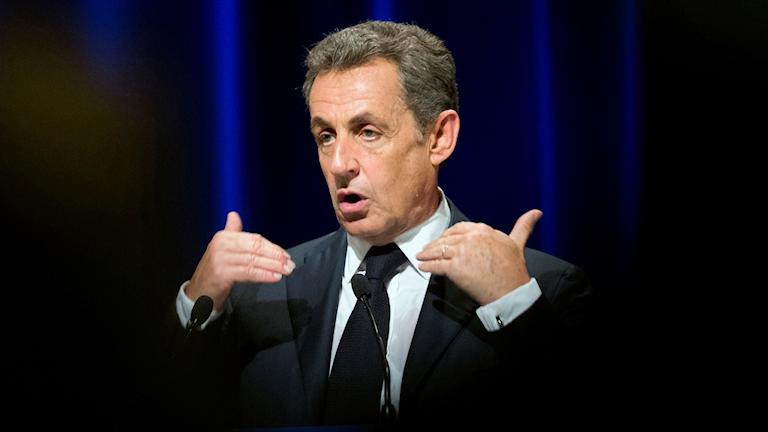 Nicolas Sarkozy, tidigare president i Frankrike