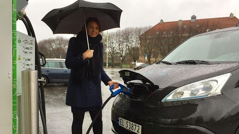 Christina Bu, generalsekreterare för Norsk Elbilsförening.