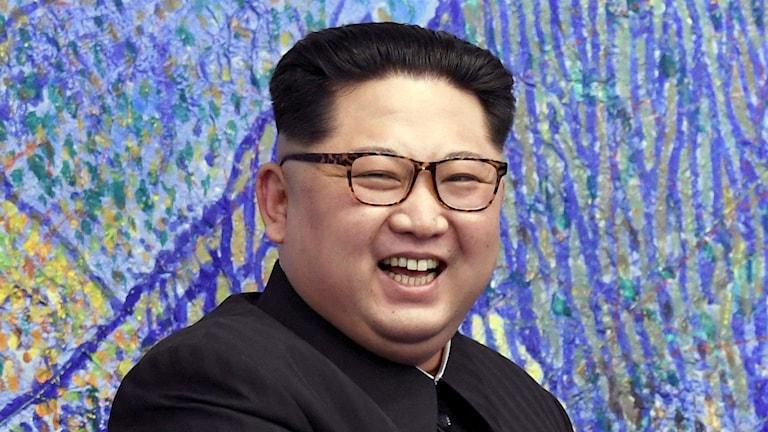 nordkoreanske ledaren Kim Jong-un