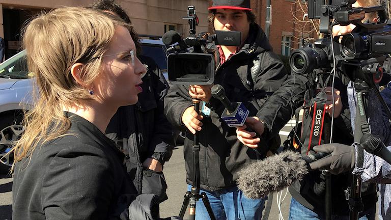 Chelsea Manning berättar om sitt beslut att inte vittna.