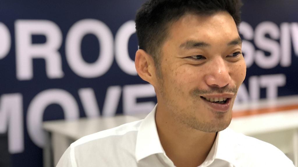 Thanathorn Juanggroongruankit oppositionspolitiker i Thailand