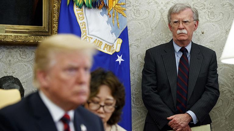 President Donald Trumps tidigare nationelle säkerhetsrådgivare John Bolton hävdar att Trump ska ha bett Kinas ledare om hjälp att vinna valet i höst.