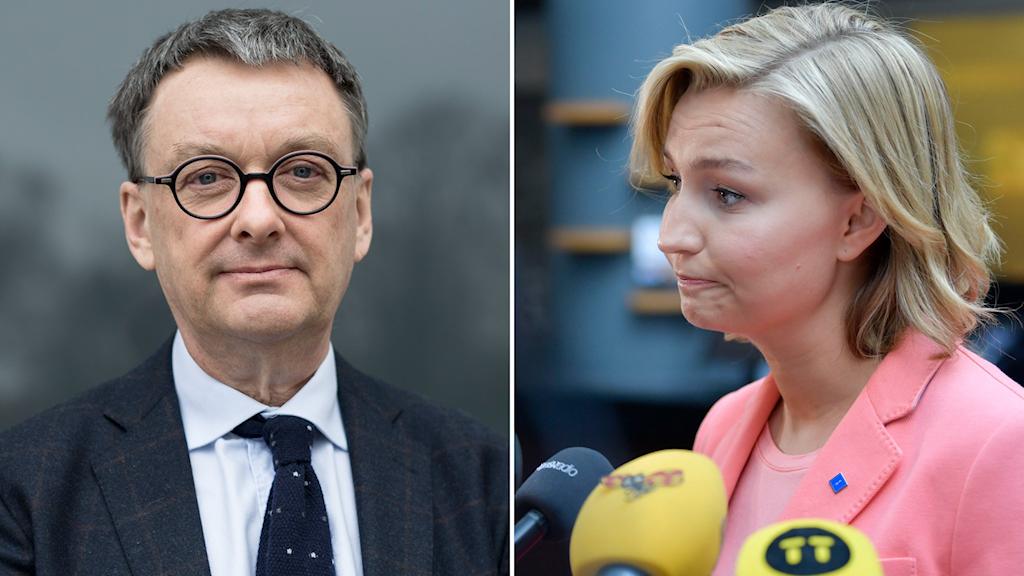 Toivo Sjörén, SIFO och Kristdemokraternas partiledare Ebba Busch Thor.