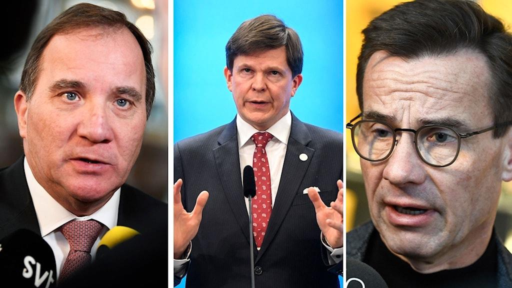 Stefna Löfven, Andreas Norlen, Ulf Kristersson