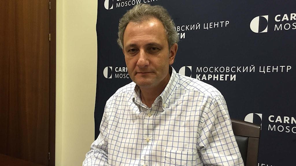 Politiska analytikern Andrej Kolesnikov.