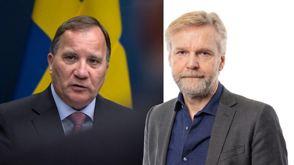 Stefan Löfven och Tomas Ramberg.