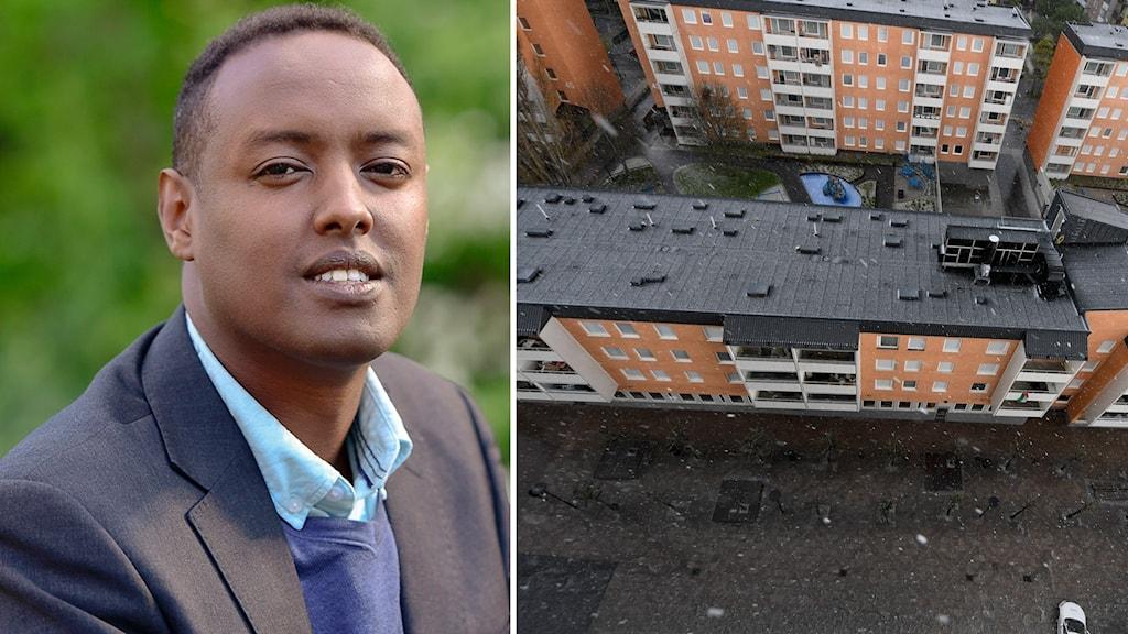 Ahmed Abdirahman, vd för stiftelsen The global village.
