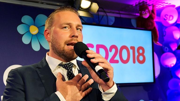 Sverigedemokraternas Mattias Karlsson