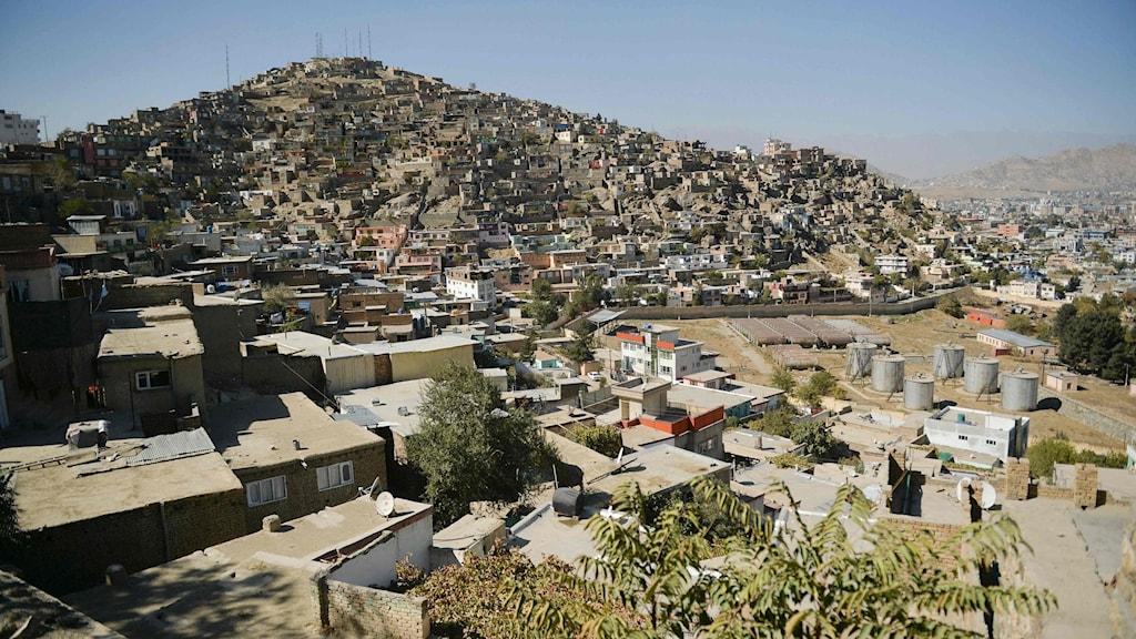 hus i Kabul.