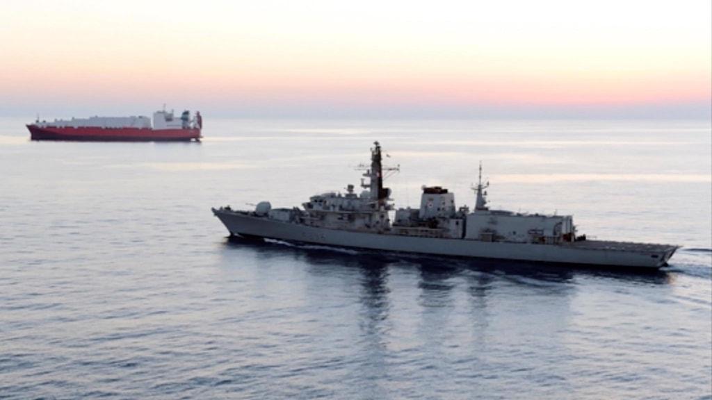 HMS Montrose Persiska viken