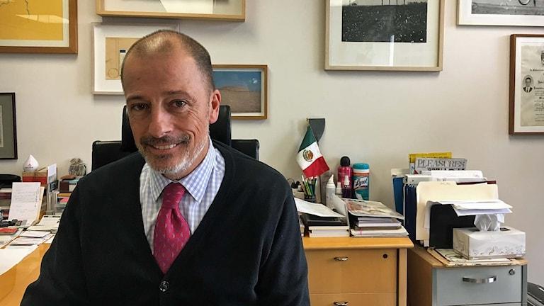 Ekonomen Julio Madrazo i Mexico City.