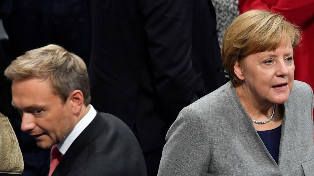 Splittrat läge i tyska förhandlingarna.