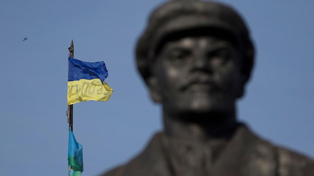 Staty av sojetledaren Lenin