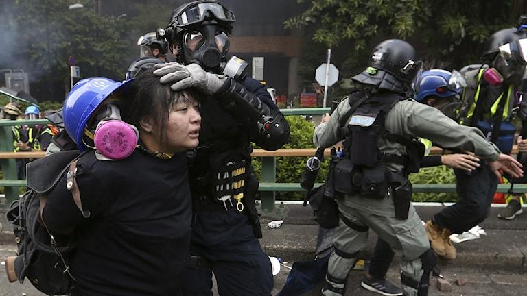 Hongkong protester