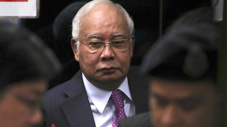 Malaysias tidigare premiärminister Najib Razak