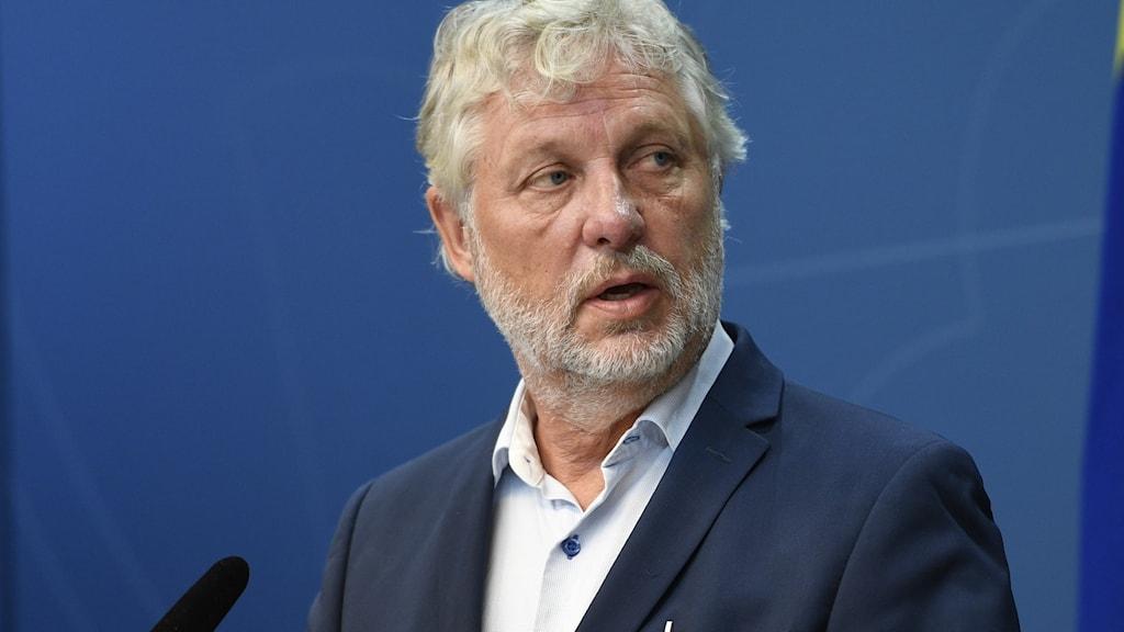 Peter Eriksson (MP), minister för internationellt utvecklingssamarbete.
