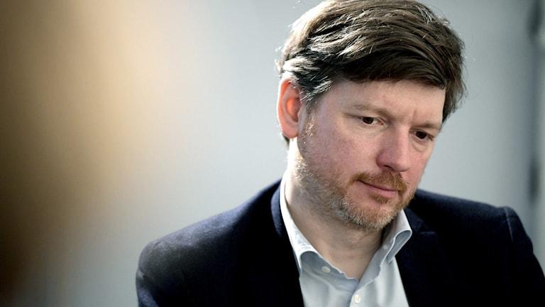 Martin Ådahl, Centerpartiets arbetsmarknadspolitiske talesperson.