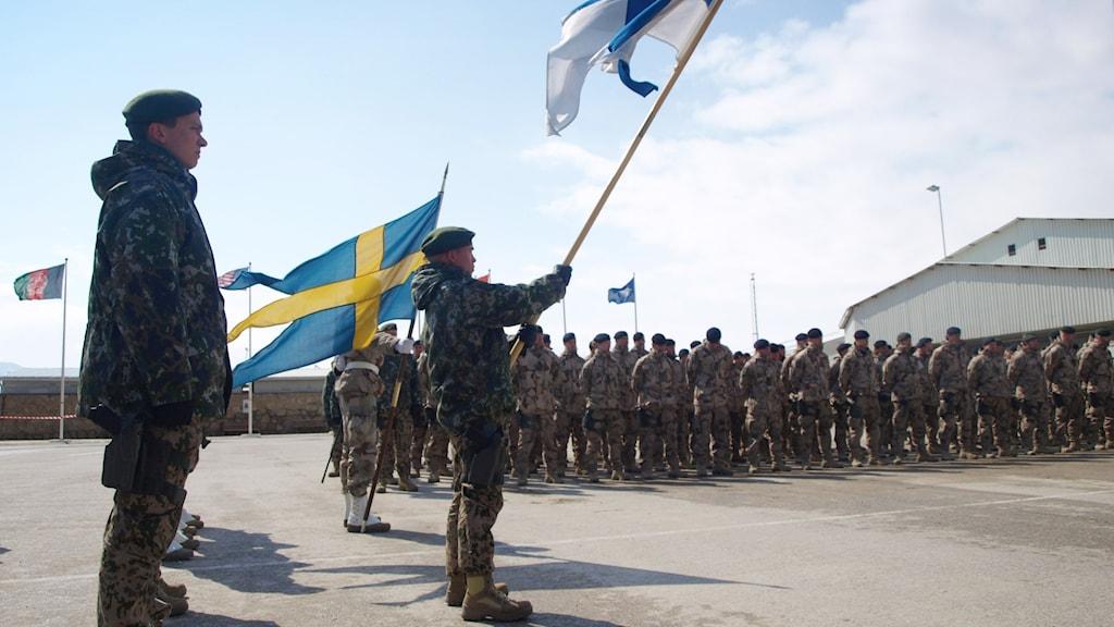 Svenska soldater i Afghanistan