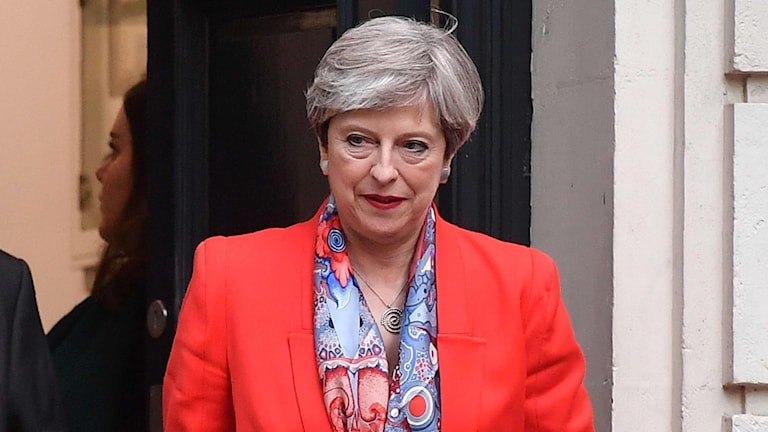 Theresa May, premiärminister Storbritannien