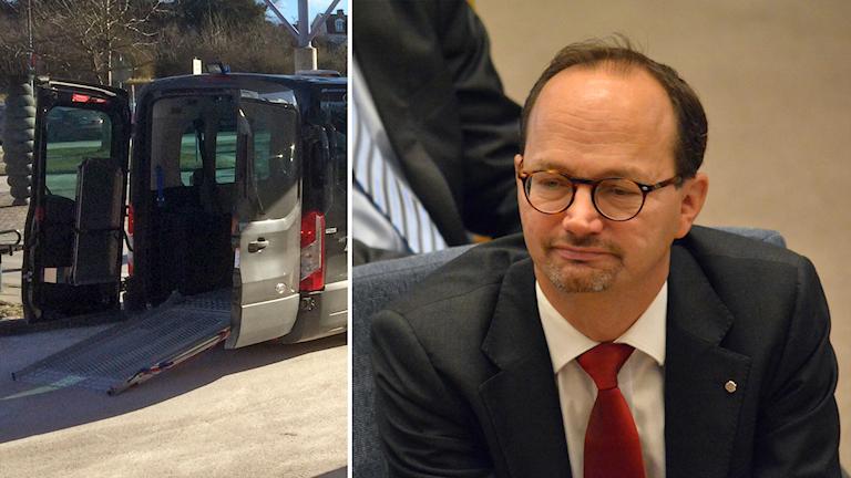 Infrastrukturminister Tomas Eneroth om Kalibers färdtjänstgranskning